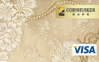 Custom Debit Card Design - Pearls And Lace